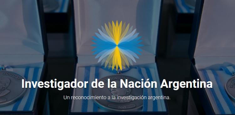 Distinción Investigador/a de la Nación Argentina: Convocatoria 2018