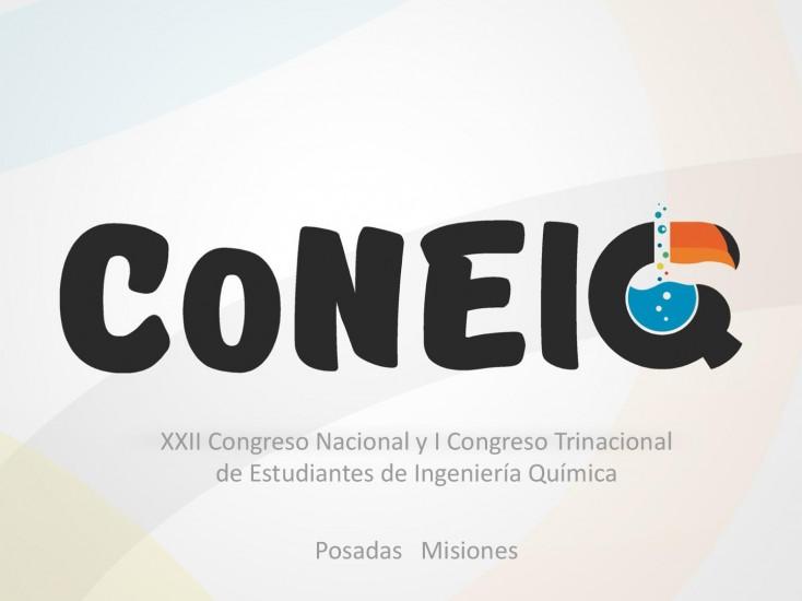 Pre Inscripción XXII CoNEIQ 2017