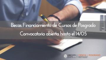 Becas Financiamiento de Cursos de Posgrado