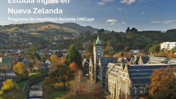 Docentes UNCUYO podrán estudiar inglés en Nueva Zelanda