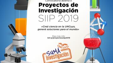 Convocatoria abierta a Proyectos de Investigación SIIP 2019