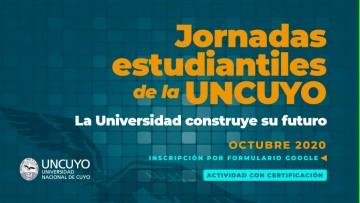 Convocatoria abierta a Jornadas Estudiantiles de la UNCUYO