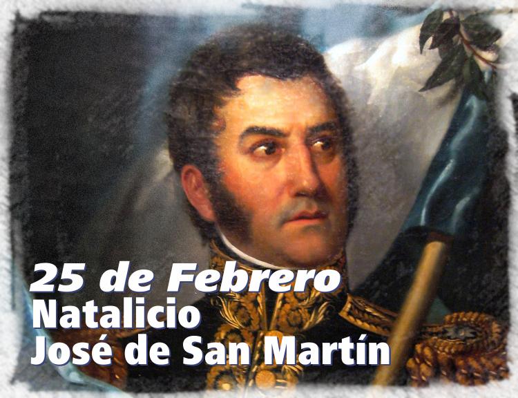Natalicio de José de San Martín