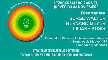 """Seminario """"Otra forma de desarrollo sostenible"""""""