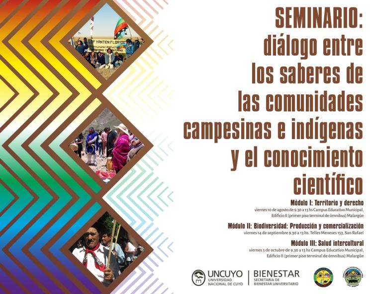 Seminario Diálogo entre los saberes de las comunidades campesinas e indígenas y el conocimiento científico