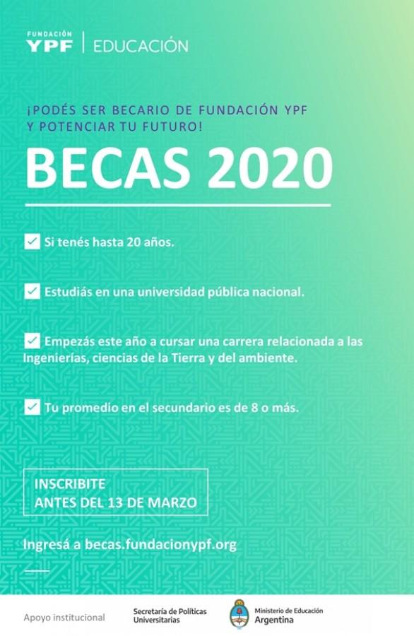 Becas 2020
