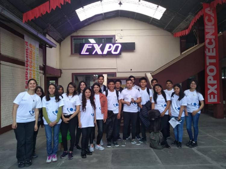 Estudiantes de la FCAI participaron como jurado en la 42° Expo Técnica