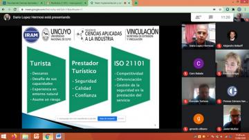 Empresas locales junto con la FCAI y Territorio de la UNCuyo trabajan para certificar Normas ISO de calidad