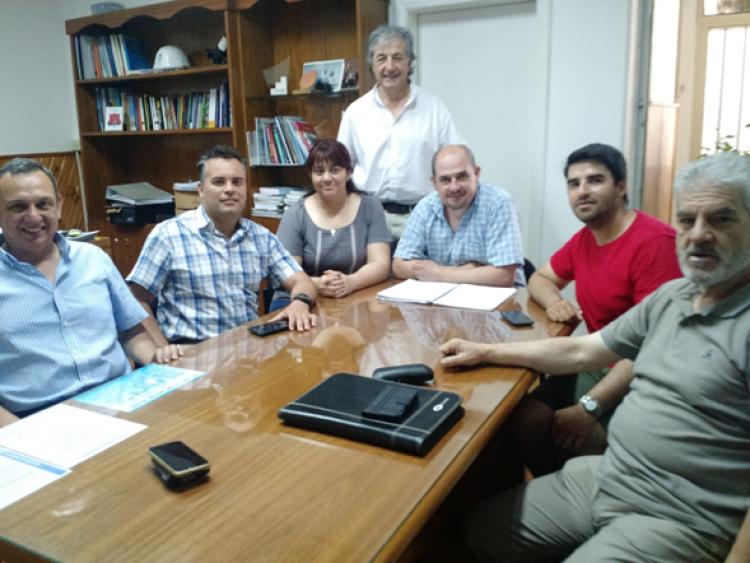 Recibimos la visita del Gerente de Relaciones Institucionales del Grupo TEPSI