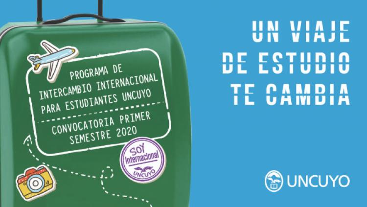 Convocatoria Programa de Intercambio Internacional - Primer semestre 2020