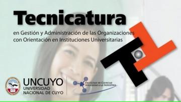 Convocatoria a docentes para la Tecnicatura en Gestión y Administración de las Organizaciones con Orientación en Instituciones Universitarias