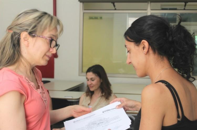 Entrega de certificados Programa Vuelta al Pago en San Rafael