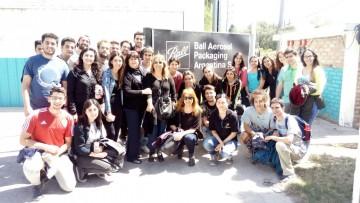 Alumnos y docentes de la FCAI visitaron la Universidad Nacional de San Luis