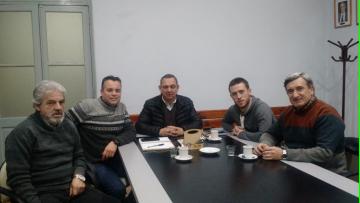 El Vicepresidente de la UIM y Vicepresidente de ASINMET visito la FCAI