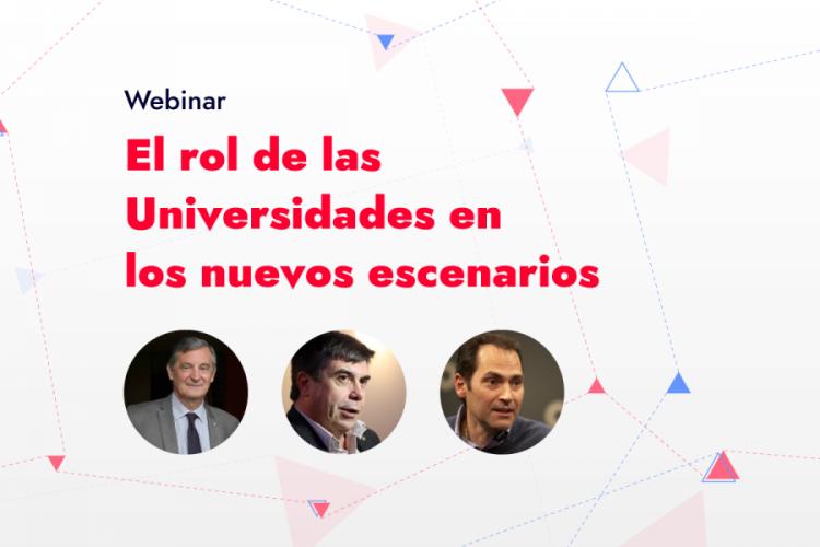 Debatirán sobre el rol de las Universidades en los nuevos escenarios que se presentan a partir de la pandemia