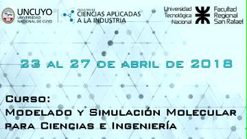 Curso: Modelado y Simulación Molecular para Ciencias e Ingeniería