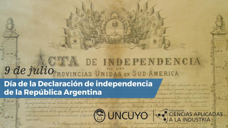 Declaración Independencia Argentina