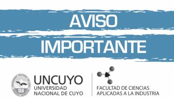 Anuncio Importante para preinscriptos en el Ciclo Licenciatura en Enología (Cohorte 2016)