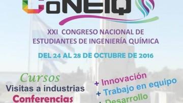 XXI Congreso Nacional de Estudiantes de Ingeniería Química