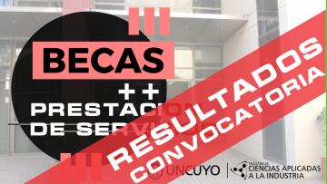 RESULTADOS Convocatoria becas de la Asociación Cooperadora FCAI