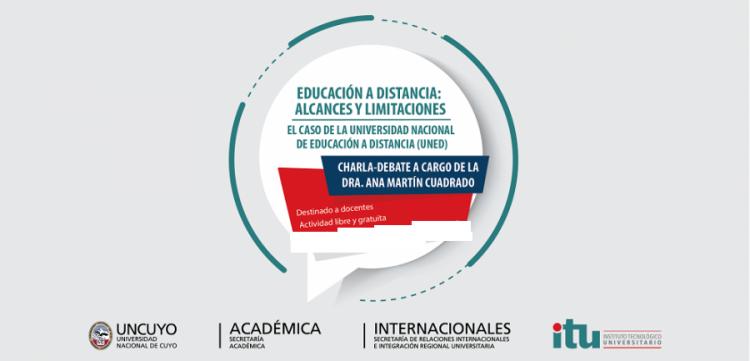 """Charla sobre """"Educación a Distancia: Alcances y Limitaciones"""""""