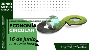 Mes del Medio Ambiente - Charla: Economía Circular