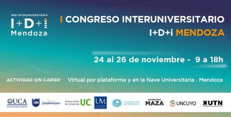 Las XVII Jornadas de Investigación UNCUYO se realizarán dentro del I Congreso Interuniversitario I+D+i Mendoza