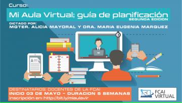 """Curso taller: """"Mi Aula Virtual: Guía de planeamiento"""" 2a. ed."""