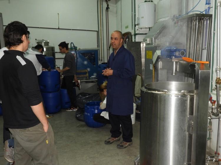 Elaboración de cerveza en la FCAI