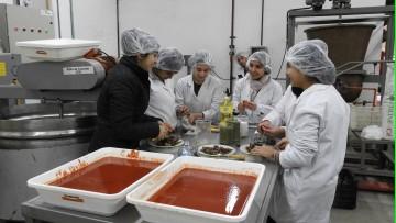 Elaboración de salsa de tomate