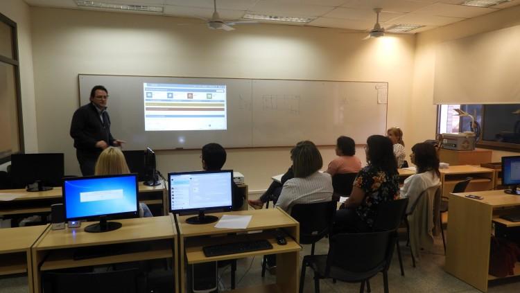 Reunión de Catalogadores de las Bibliotecas UNCuyo en la FCAI