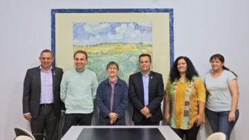 Nos visitaron representantes del programa ARFITEC