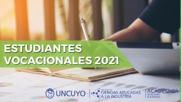 Inscripción para estudiantes vocacionales 2021