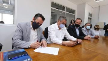 Se firmó convenio para impulsar el desarrollo del Parque Tecnológico en San Rafael