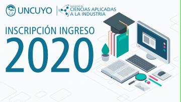 Inscripción ingreso 2020