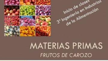 1º Clase Materias Primas