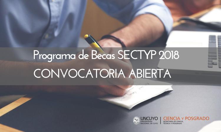 Programa de Becas SECTYP 2018