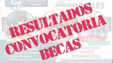 Resultados Becas Instituto de Inglés Global English