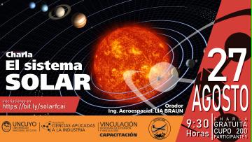 CHARLA: Nuestro Sistema Solar