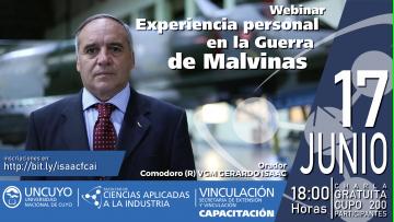 Conferencia: Experiencia personal en la Guerra de Malvinas