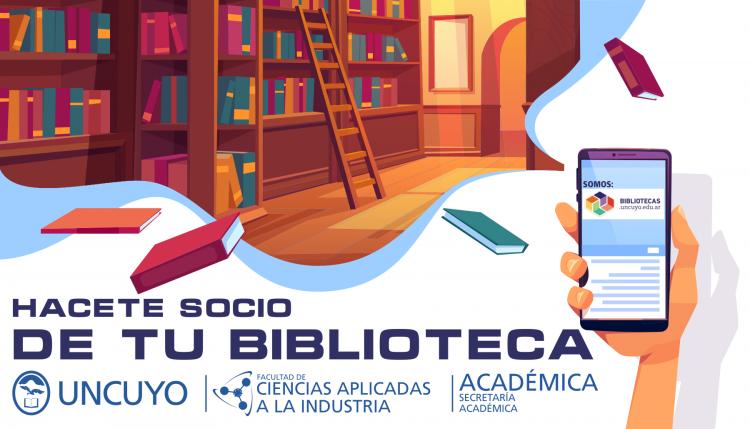 Hacete socio de tu biblioteca