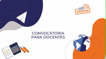 La SIIP financiará propuestas innovadoras para la internacionalización de los programas de estudio