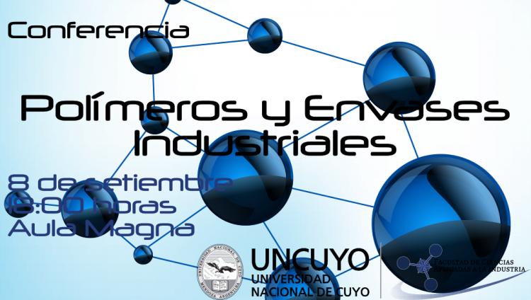 Conferencia sobre Polímeros y Envases industriales en la FCAI