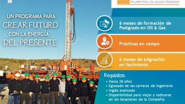 Young Trails 2018/ Pluspetrol Oil & Gas Program